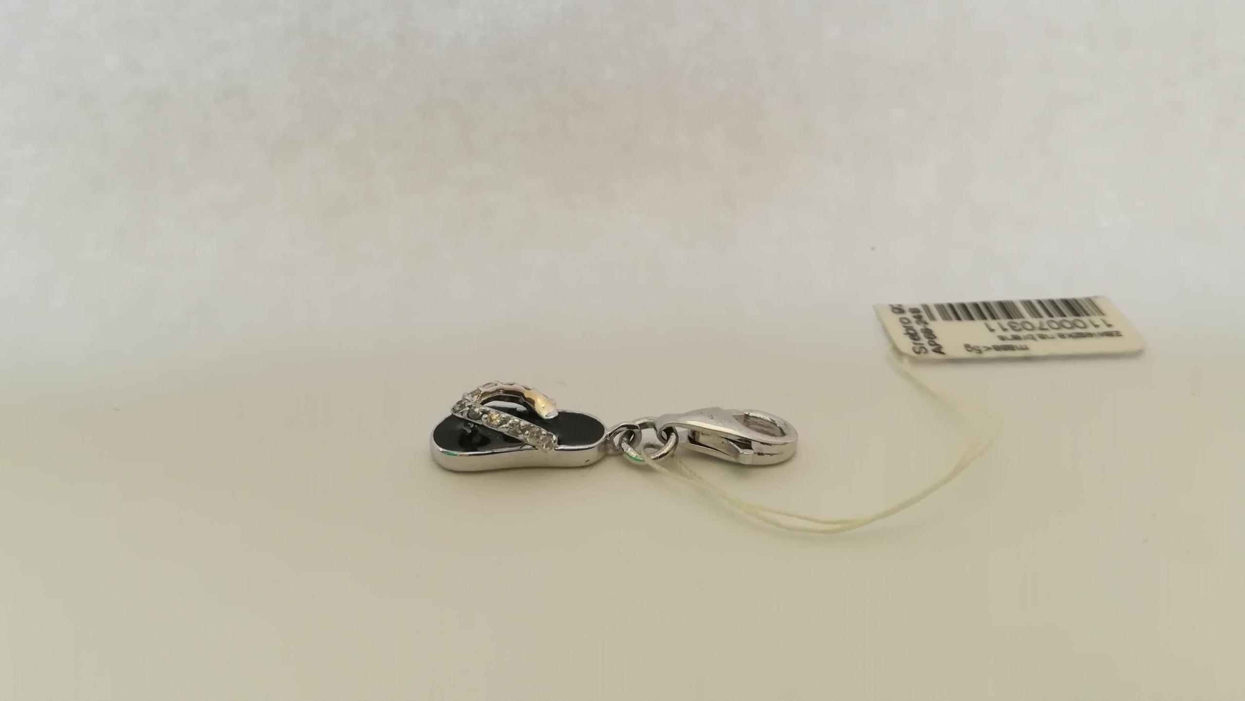 51ff24ae6db3d3 Charms Apart srebrna zawieszka bransoletka klapek - 7679314692 ...