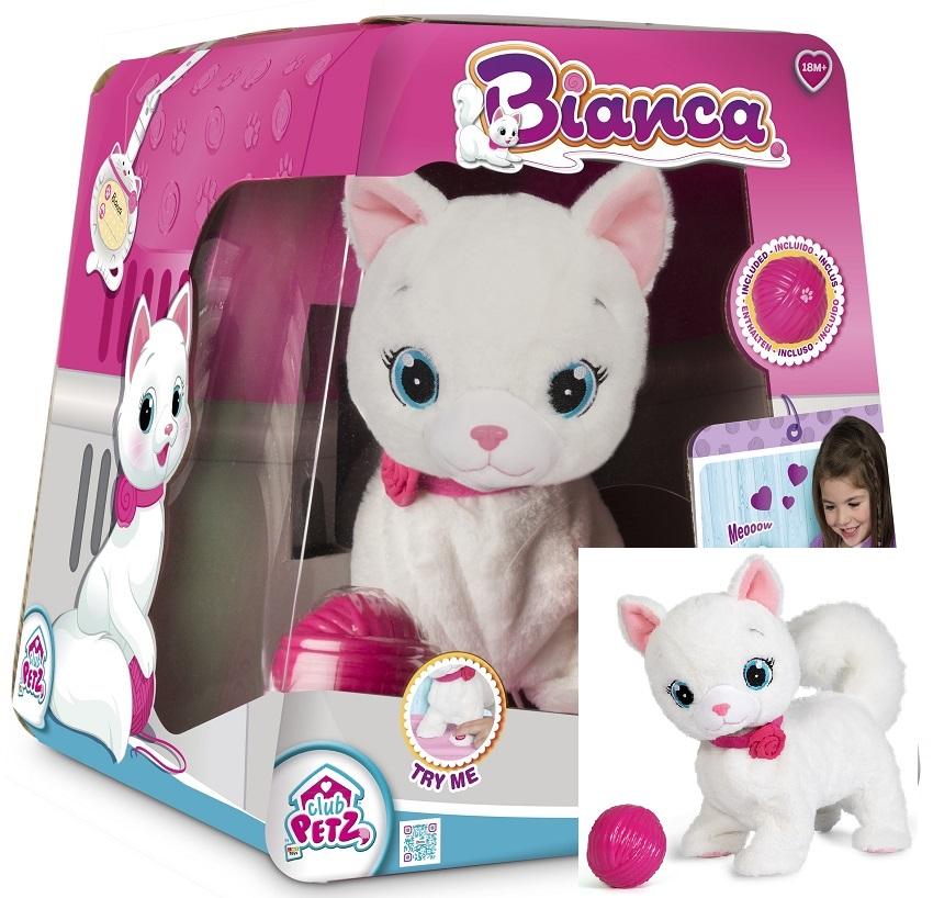 095847 Tm Toys Interaktywny Kot Kotek Bianca Chodz 7157858211