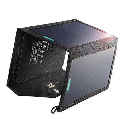 AUKEY PB-P3 POWER-BANK SOLARNY ŁADOWARKA 2x USB
