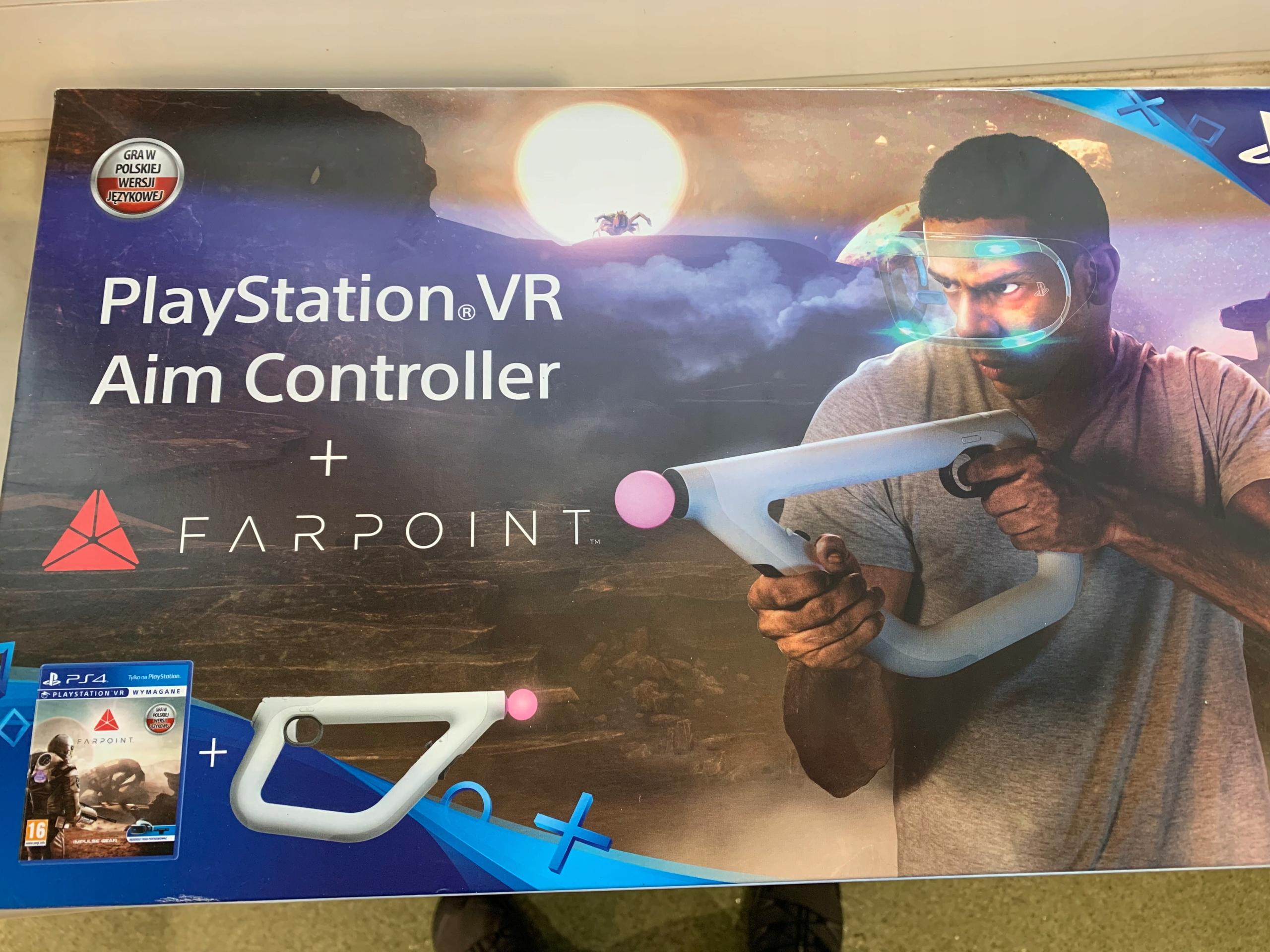 Farpoint + Aim Controller do PS4 VR -349 zł