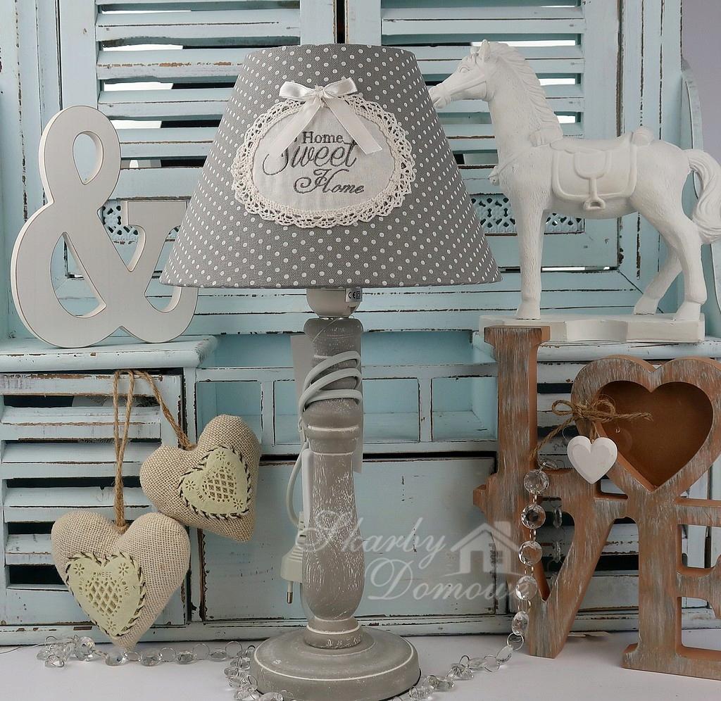 Lampa Vinatge Home Sweet Salon Sypialnia święta 7721302714