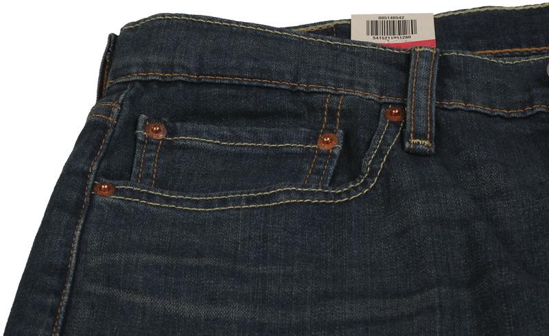 Levis 514 regular fit 0542 SPODNIE JEANSY W32 L34