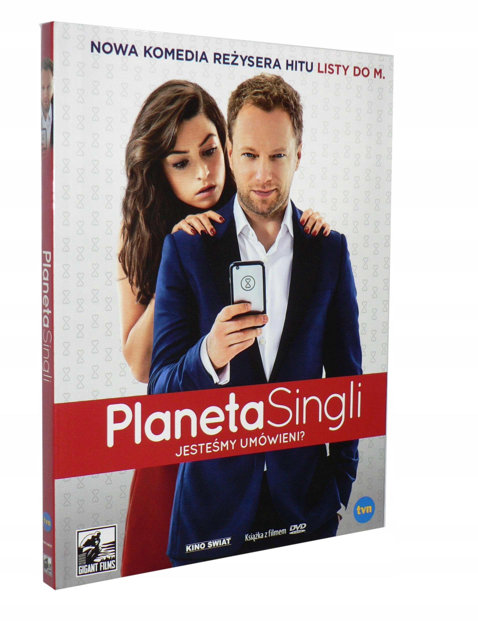 DVD - PLANETA SINGLI(2016) - Maciej Stuhr D.Stenka