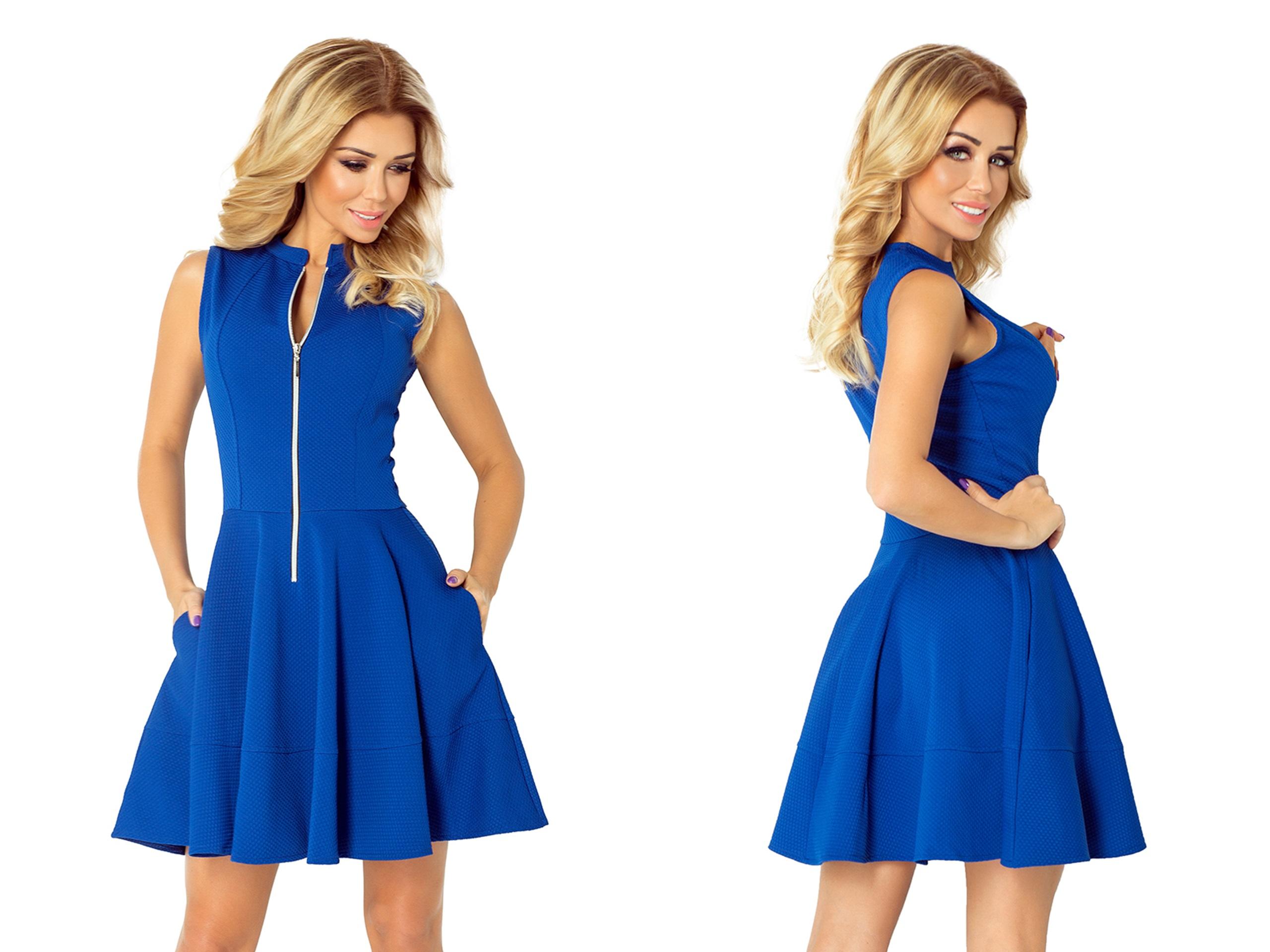 3517767b8c81b2 Elegancka Sukienka NA WESELE PRZYJĘCIE 123-1 S 36 - 7301083156 ...
