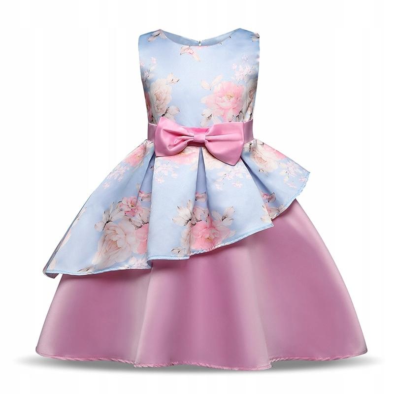 5732fe3470 Nowa sukienka bal wesele przyjęcie r. 142 10 lat - 7673018990 ...