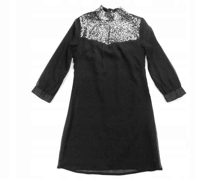 dd5b7d14 7515 JUNG STIL CZARNA czarna UNIKATOWA sukienka 38 - 7245236403 ...