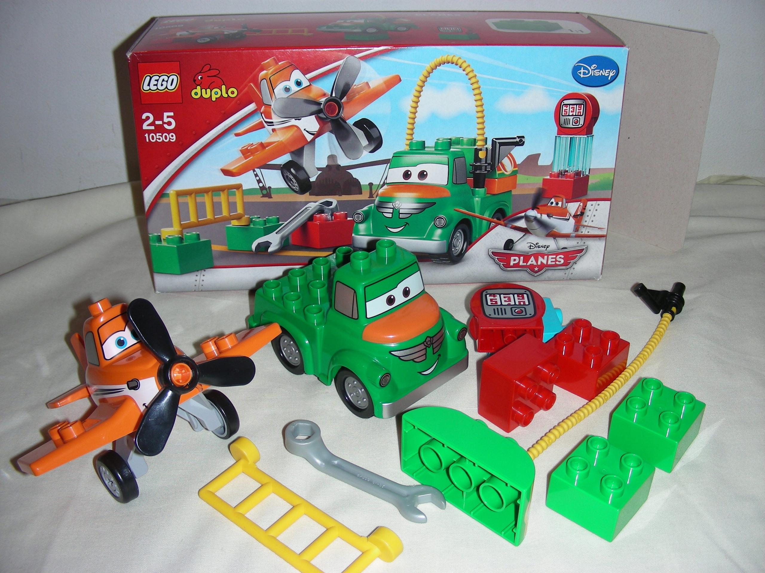 Klocki Lego Duplo 10509 Samoloty Planes Dusty Beka 7674101558