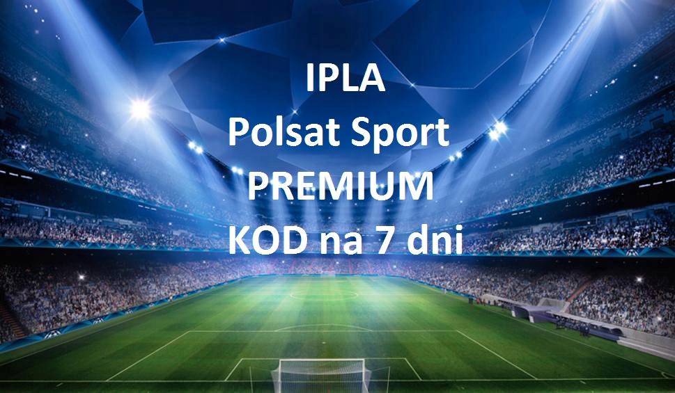 iPLA Polsat Sport Premium 7dni - AUTOMAT