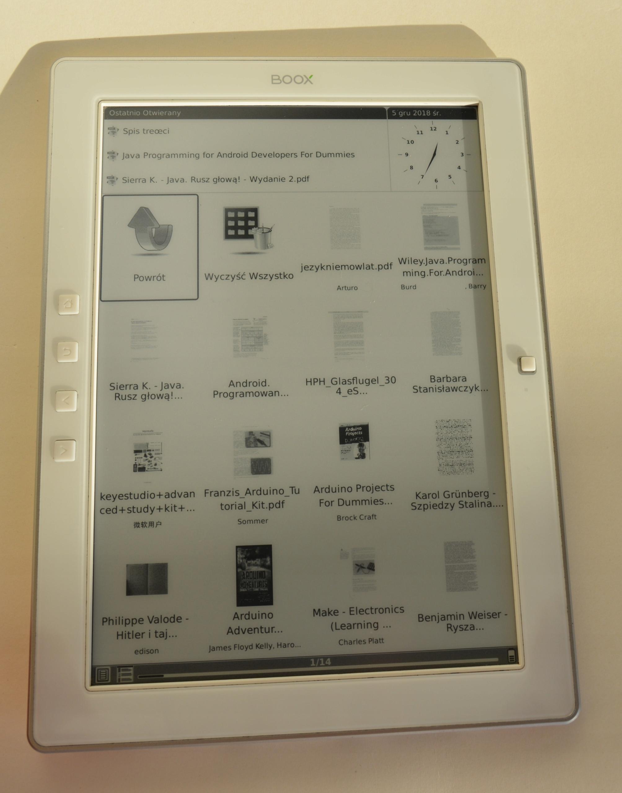 Onyx Boox M92 czytnik ebook reader 10 cali e-ink