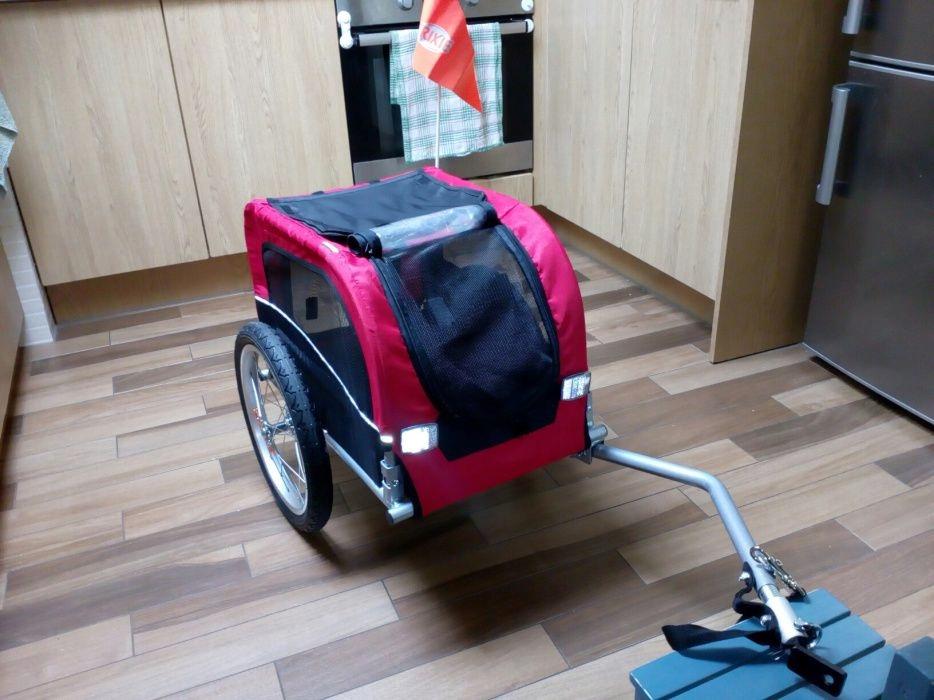 Przyczepka rowerowa DLA PSA Trixie S do 20 kg