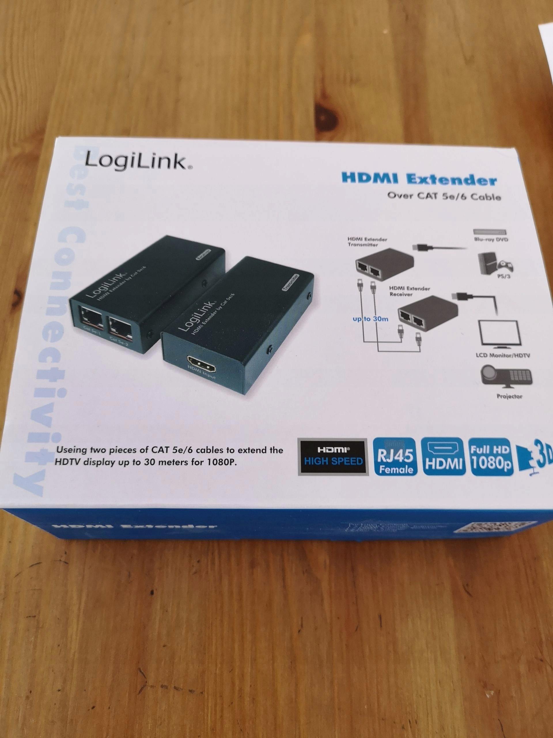 logilink hdmi extender  LogiLink HDMI Extender - LAN 30m, Gwarancja 18M - 7481942424 ...