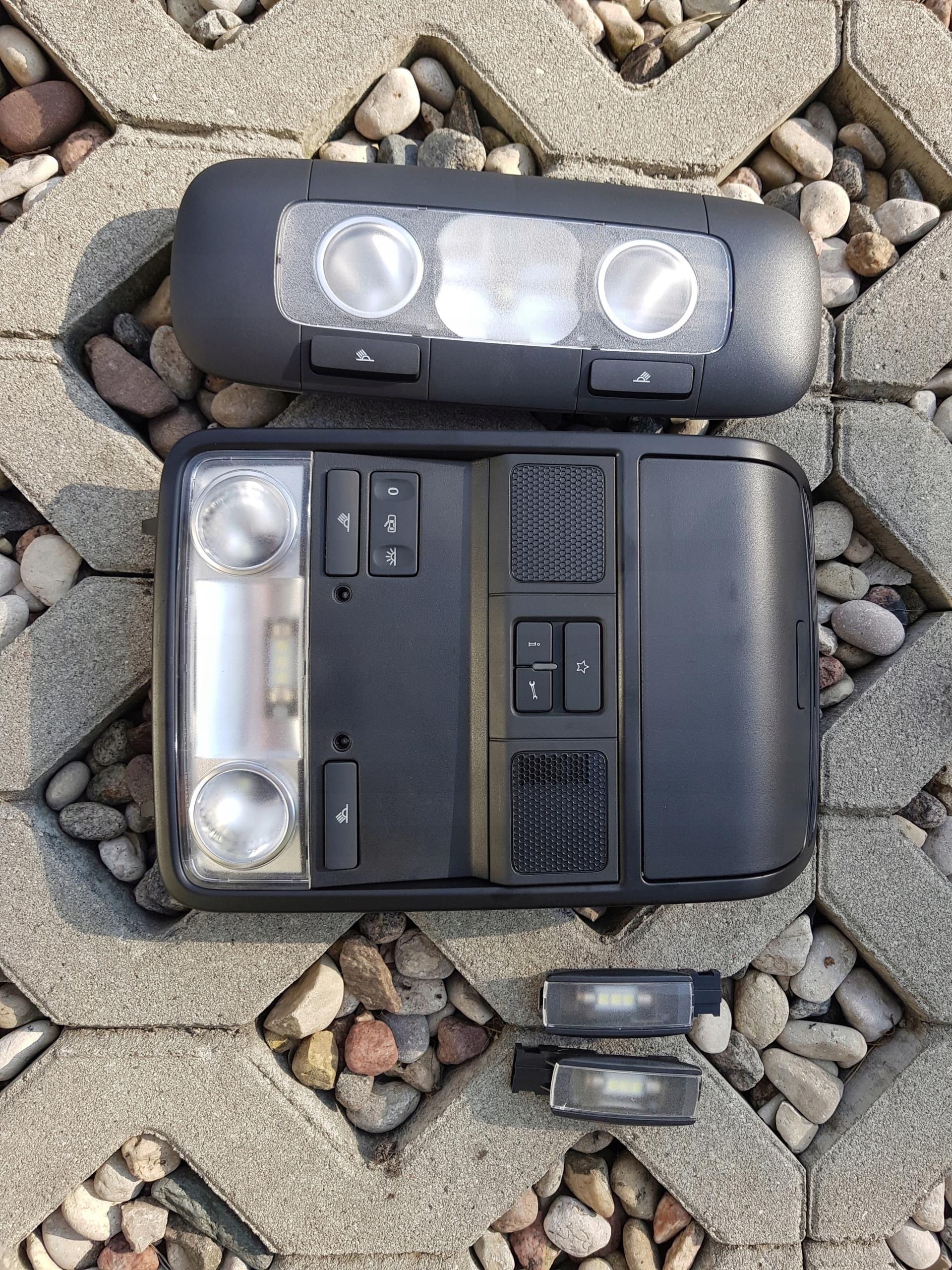 Lampki Oświetlenie Passat B7 B6 Cc Vw Golf Gti 7468031760