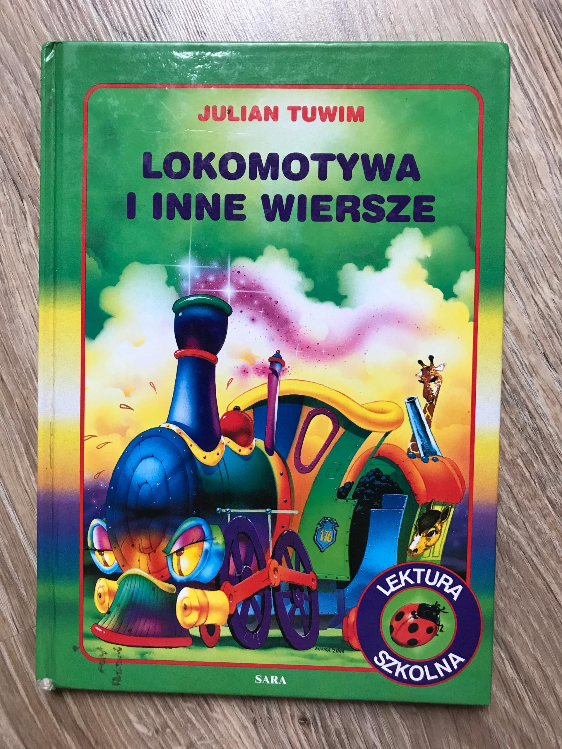 Lokomotywa I Inne Wiersze Julian Tuwim Książka 7501369005