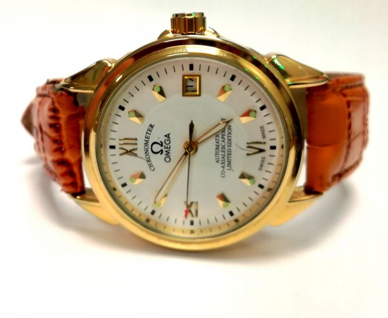 ZEGAREK OMEGA CO-AXIALESCAPEMENT LIMITED EDITION