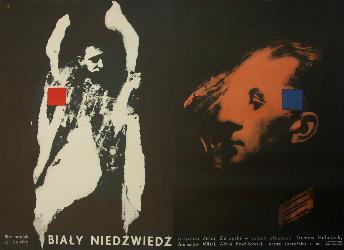 Plakat Wojciech Zamecznik Biały Niedźwiedź 1959 6911303096