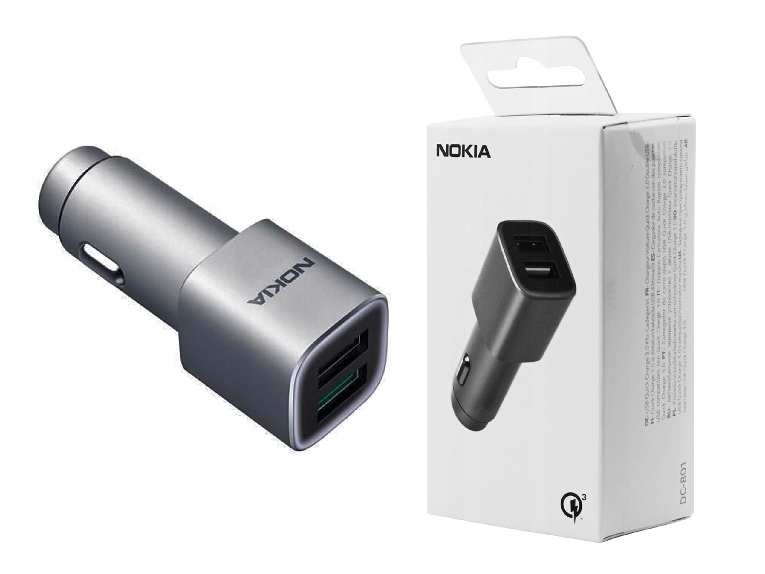 Ładowarka samochodowa Nokia QC 3.0 do Nokia 7 Plus