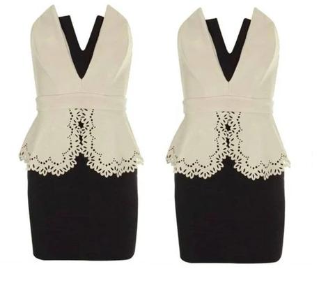 43bea13fc4 LIPSY BLACK NUDE sukienka roz.38 wyprzedaż -70% - 7356491522 ...