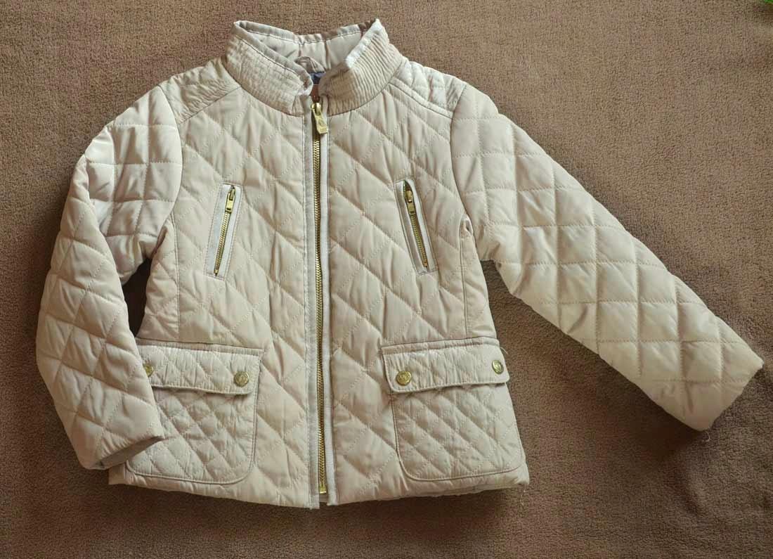 Kurtka kurteczka Zara 80 przejściowa jesienna pikowana