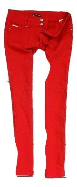 e11f31f558cf8 Gucci Spodnie Damskie Biodrowki Rurki Czerwone  42 - 6905265061 ...