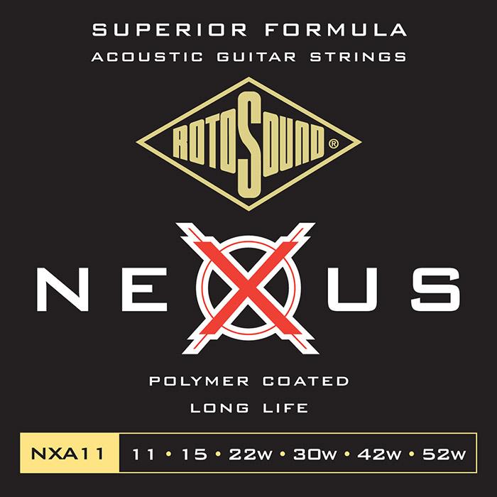 ROTOSOUND NXA11 STRUNY DO GITARY AKUSTYCZNEJ 11-52
