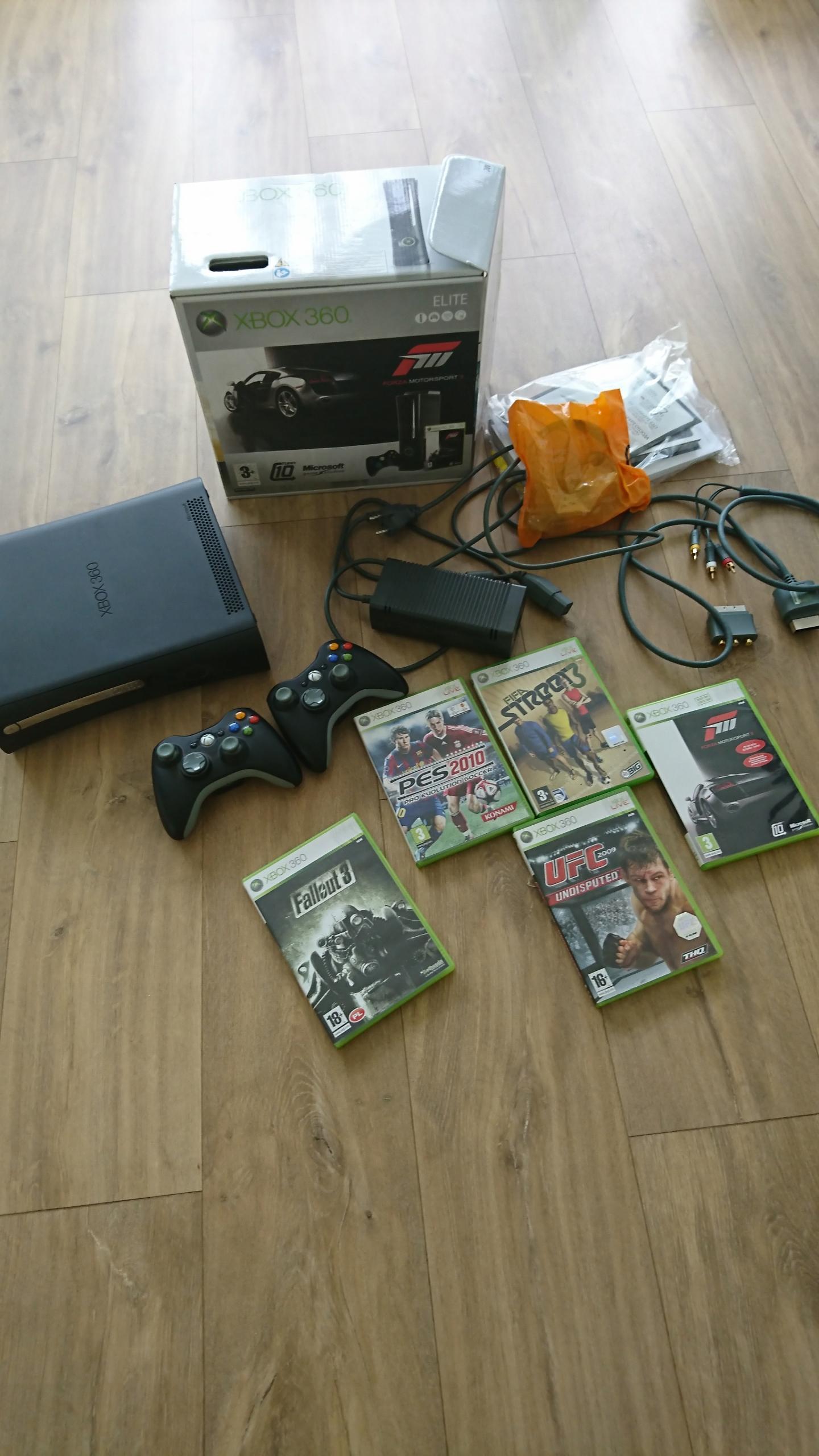Xbox 360 ELITE 2 pady gry