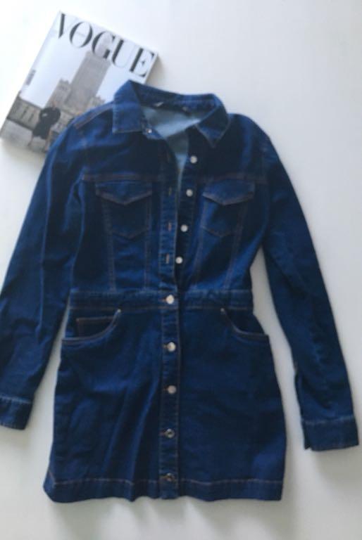 1b68c10b35 Jeansowa sukienka ZARA - 7251917314 - oficjalne archiwum allegro