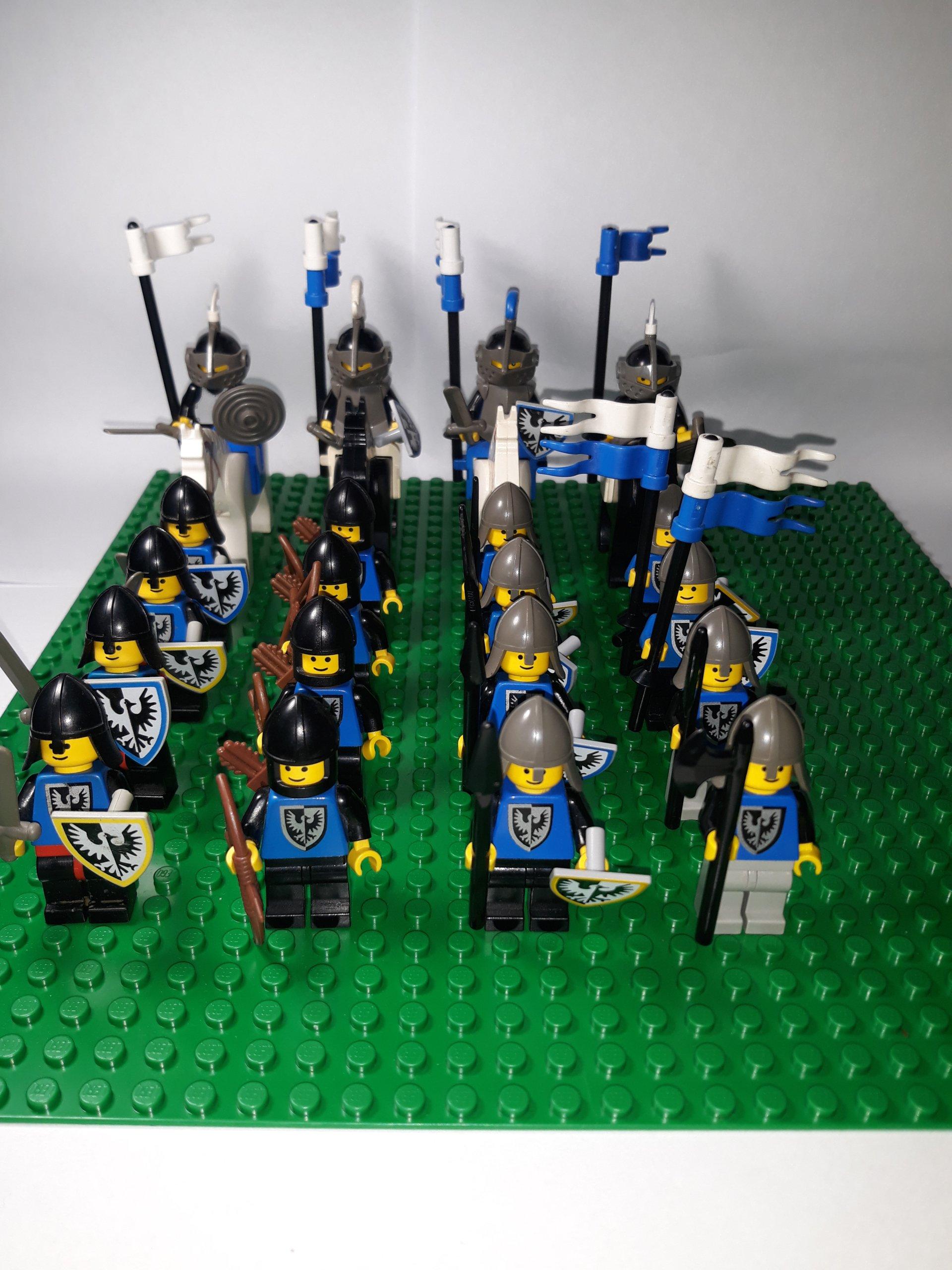 Lego Castle Zamek Rycerze Armia Black Falcons 7133436284
