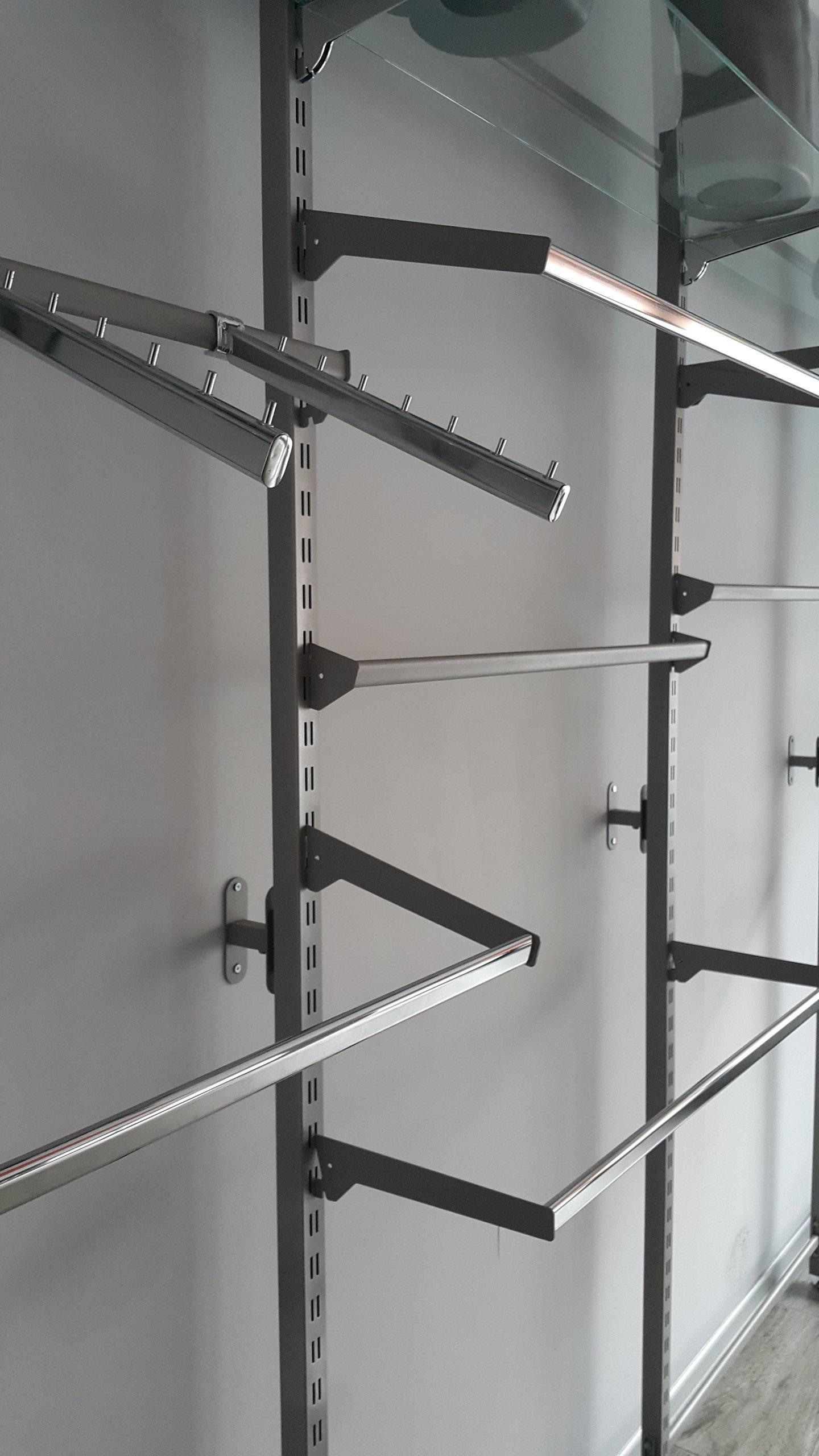 Regaly Sklepowe Systemowe Metalowe Do Odziezy 7231384490