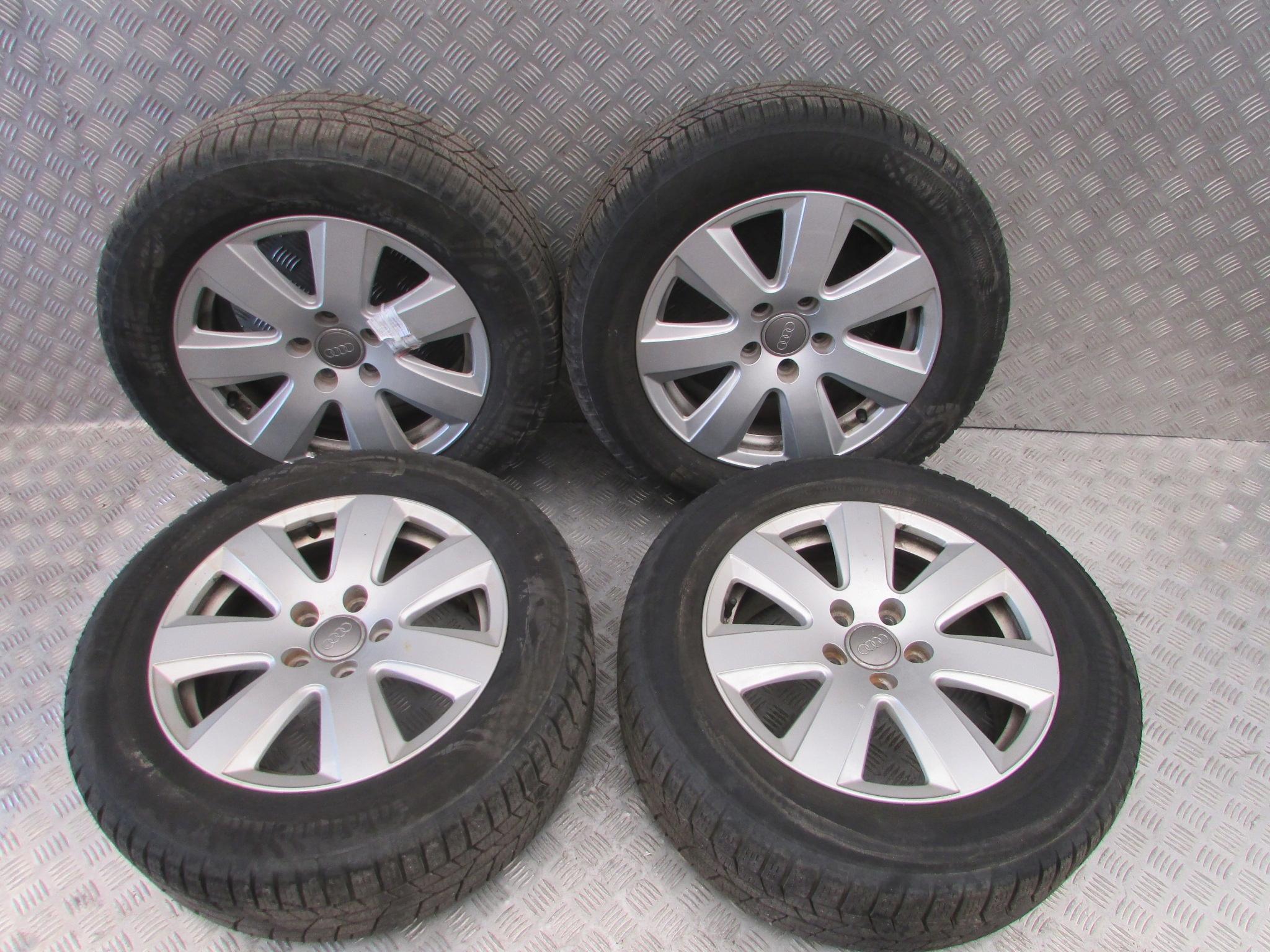 Koła Zimowe Felgi Opony 2255516 Audi A6 C6 06r 7364616862