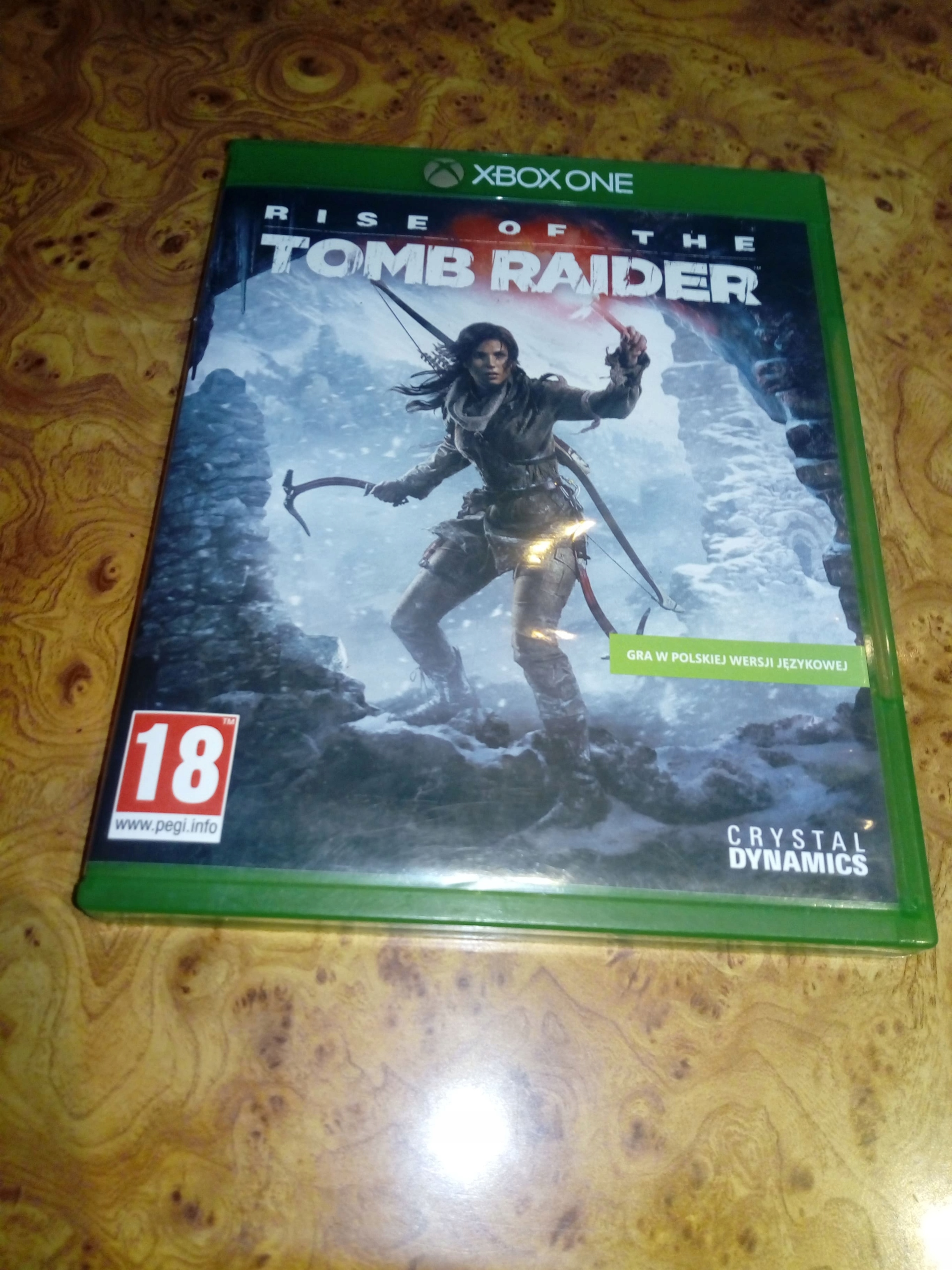TOMB RAIDER RISE OF THE XBOX ONE STAN BDB BCM