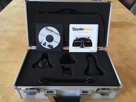 Spyder 4 ELITE kalibrator monitor wydruk