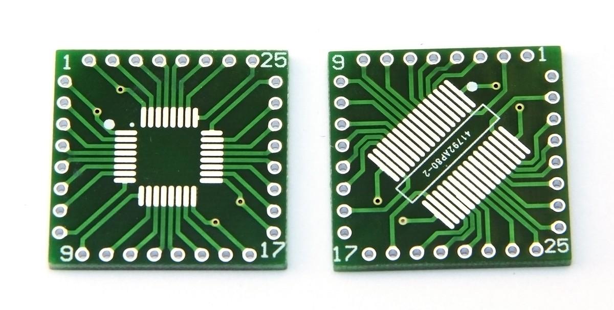 Adapter przejściówka TQFP LQFP SSOP 32 0,8mm -DIP
