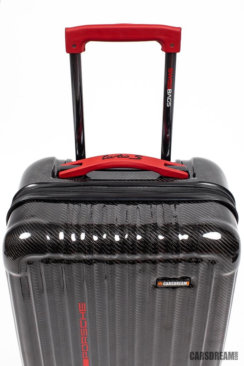 eefbe1bdd53e walizka kabinowa CARBON McLaren Bentley Bugatti - 7346540266 ...