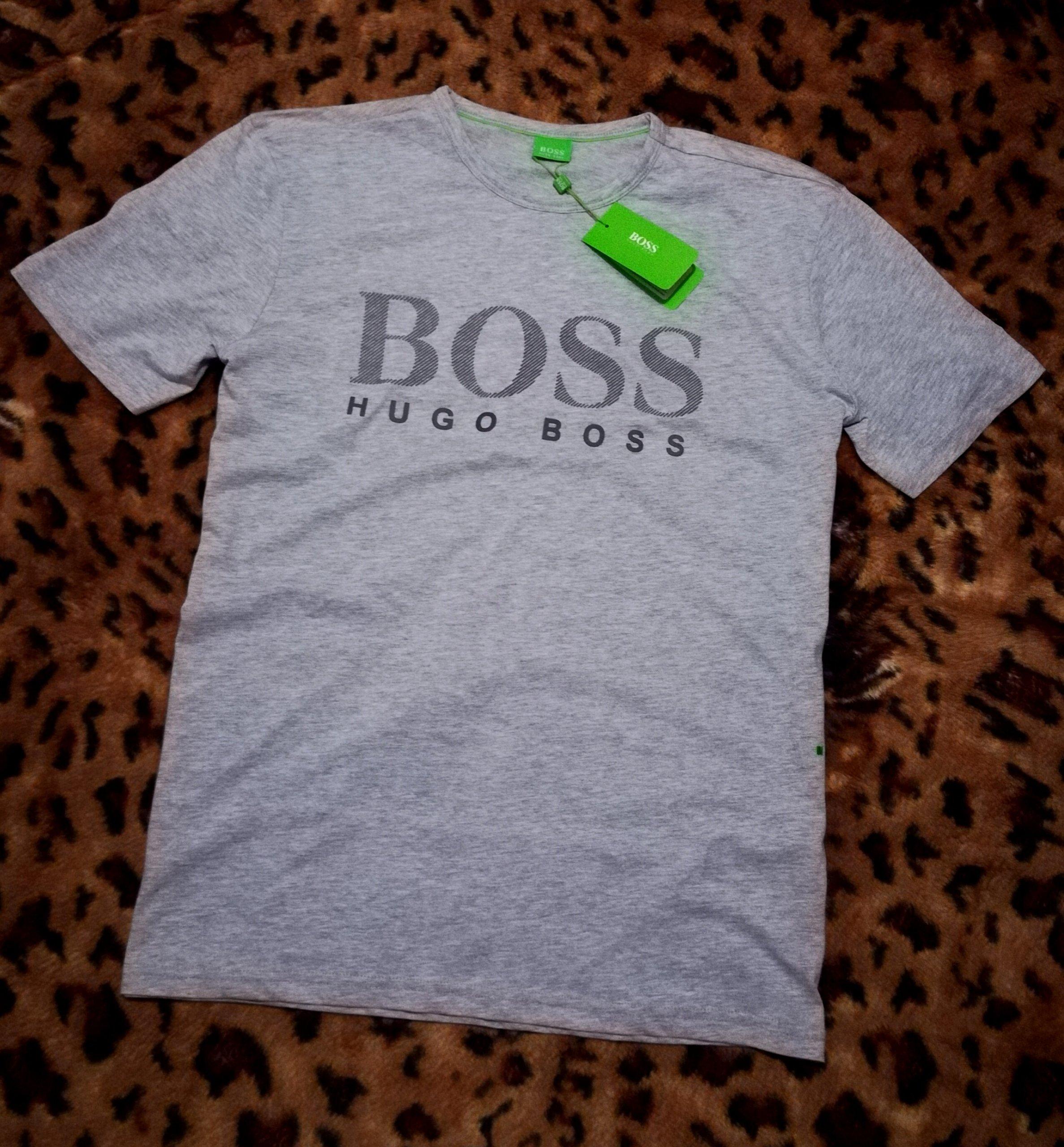 a6206a1e4f331 Hugo Boss Koszulka T-Shirt Nowy Rozmiar: M - 7398993901 - oficjalne ...
