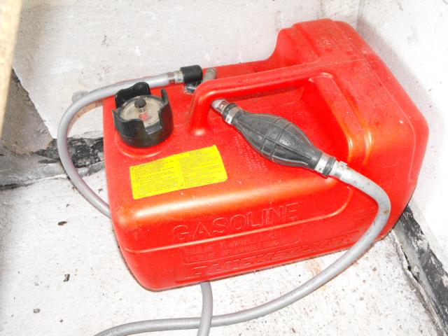 zbiornik paliwa Quicksilver z wskażnikiem, pompką