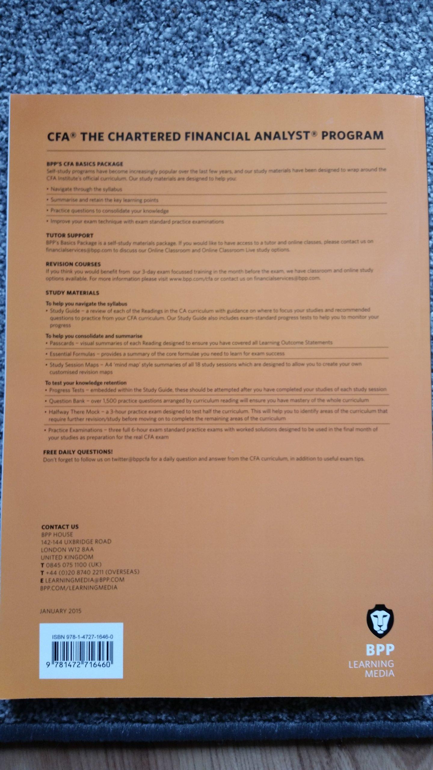 CFA Level 2 Study Guide Oficjalne Archiwum Allegro