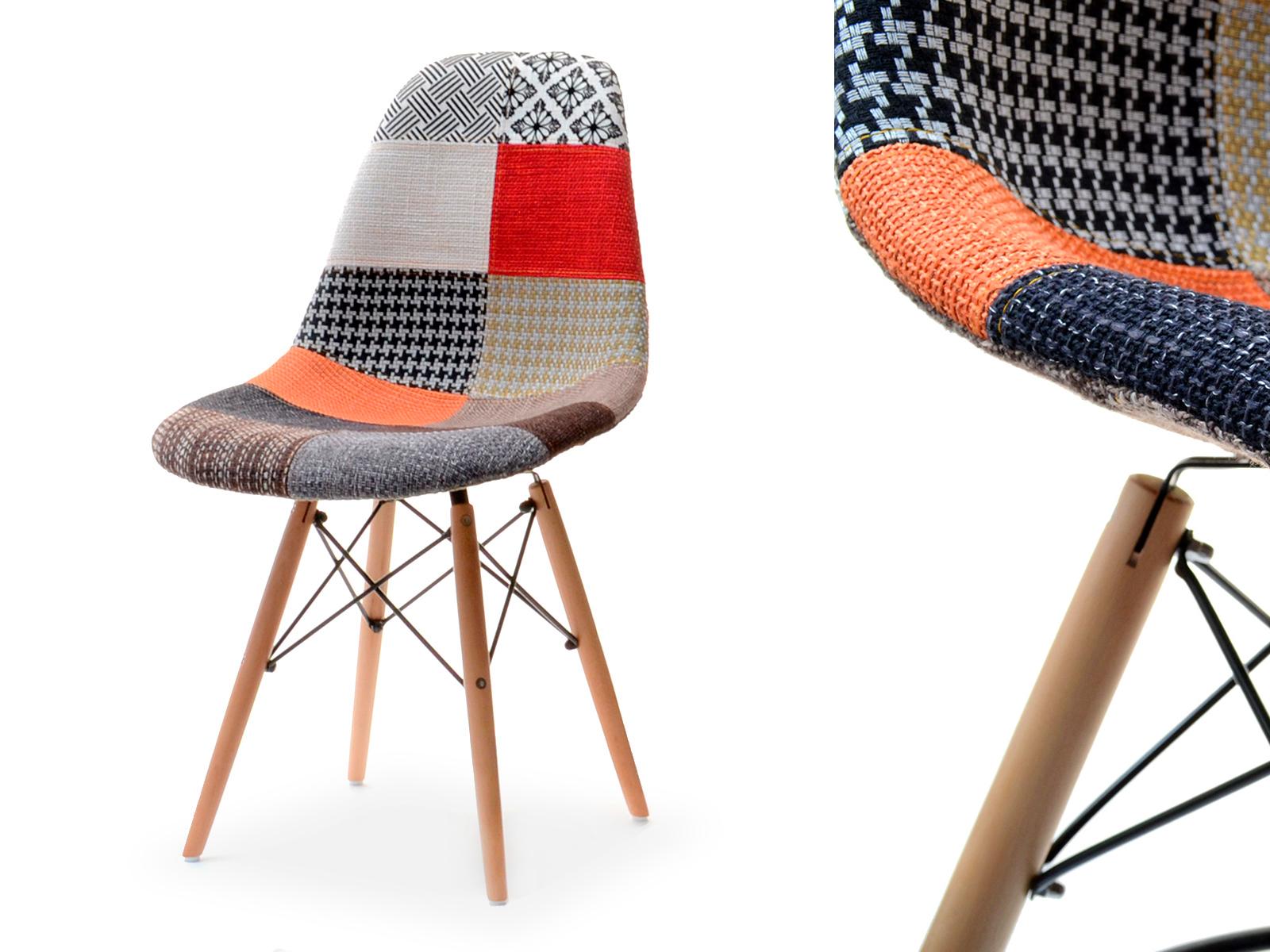 Tapicerowane krzesło drewniane nogi mpc wood wzory 7241799390 oficjalne archiwum allegro