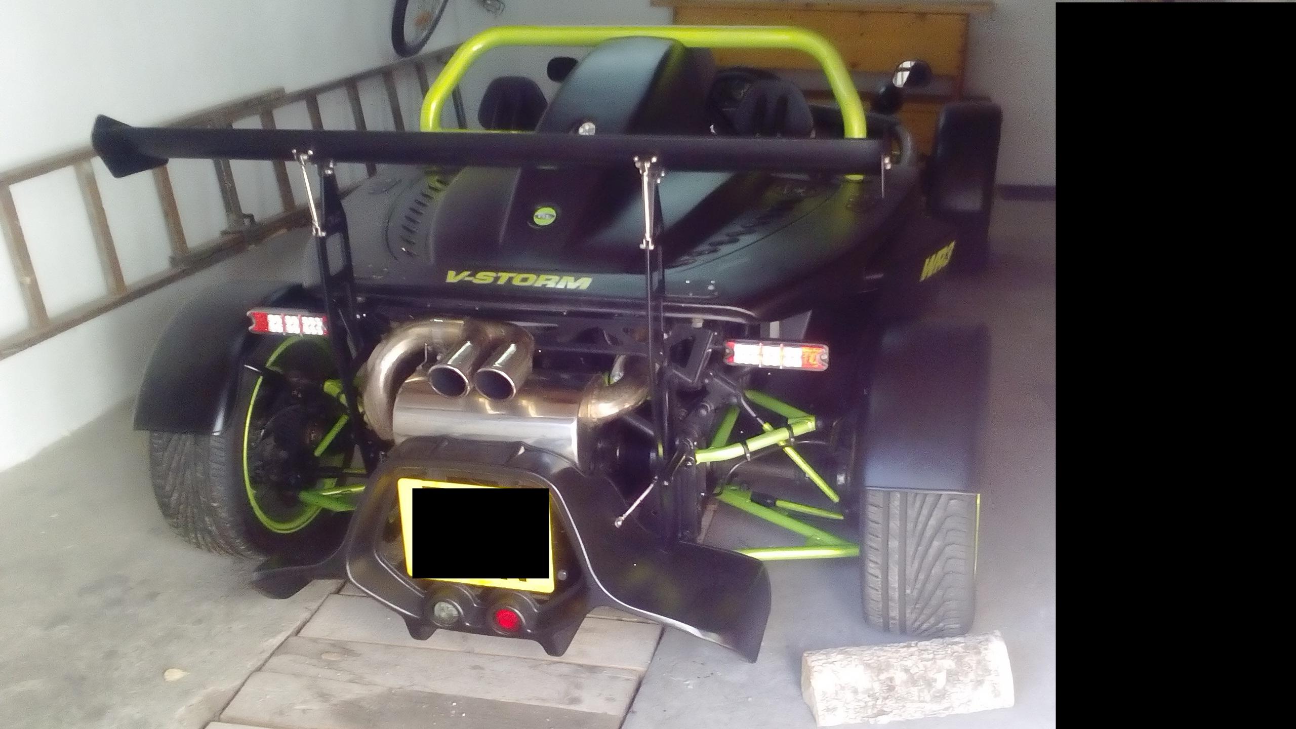 Ogromny WR3 V-STORM ,kit car (no Ariel Atom,Subaru,Lotus) - 7314149397 XK56