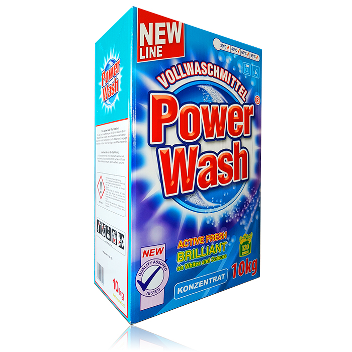 POWER WASH PROSZEK DO PRANIA 10KG NIEMIECKI 120WL