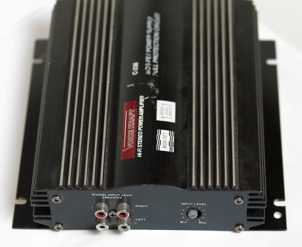 Obudowa wzmacniacza auto VOICE KRAFT C-238 2x 20W