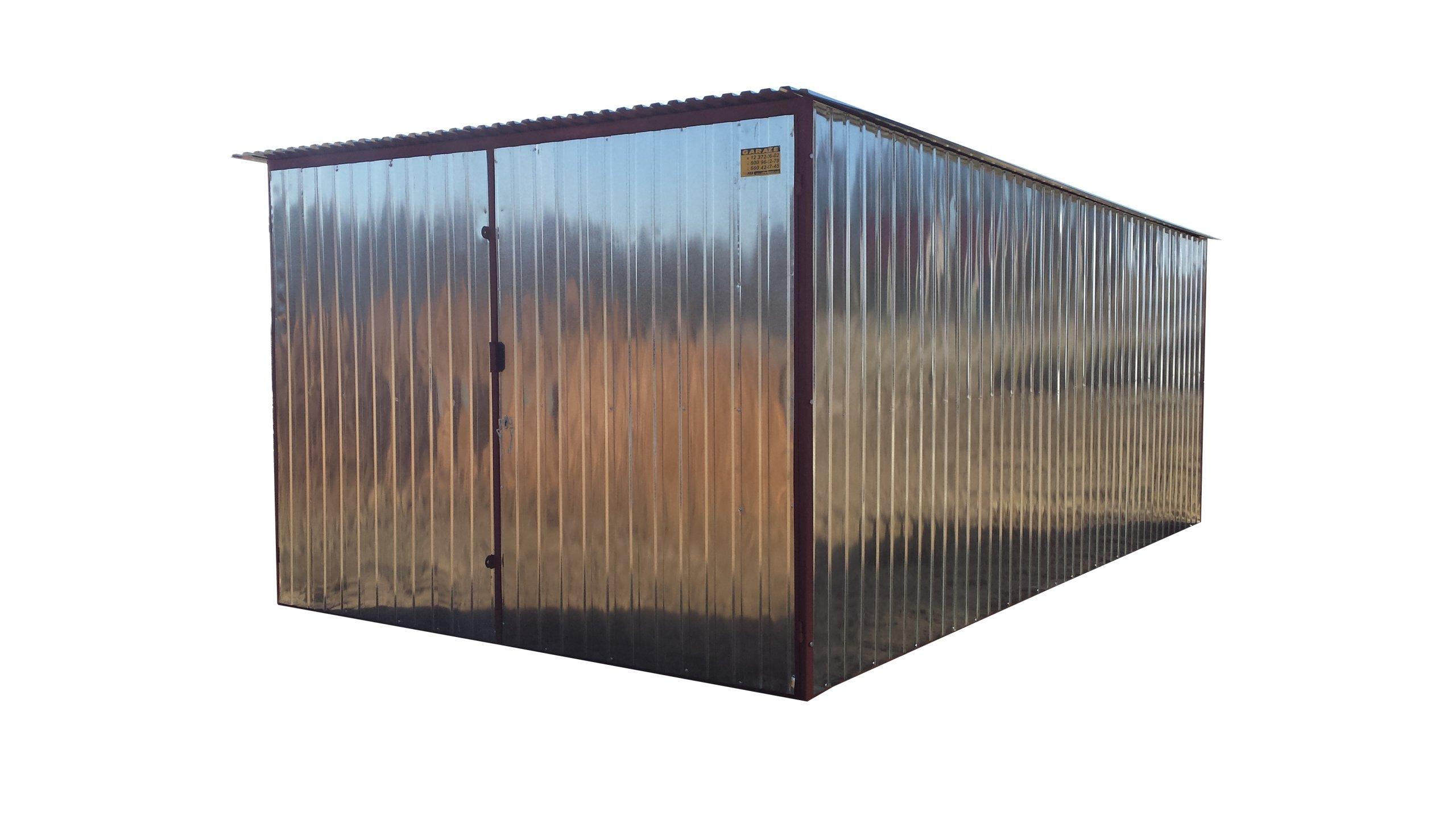 Ogromnie GARAŻE BLASZANE garaz blaszany 3x5 OPOLE LUBELSKIE - 6749920350 KC09