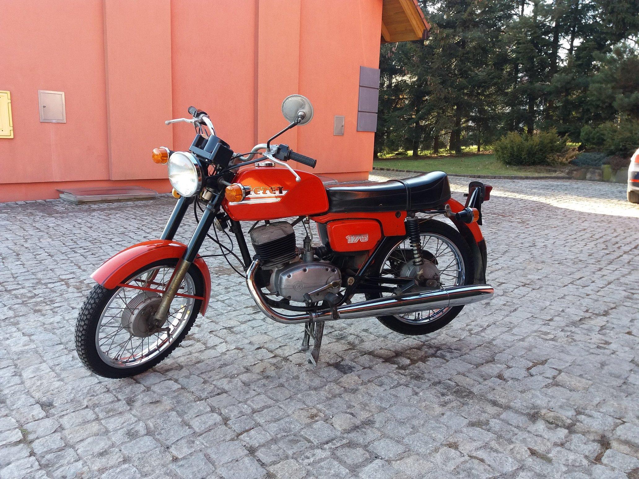 Betere Witam Sprzedam Motor CZ 175 z roku 1987 - 7172302193 - oficjalne BY-78