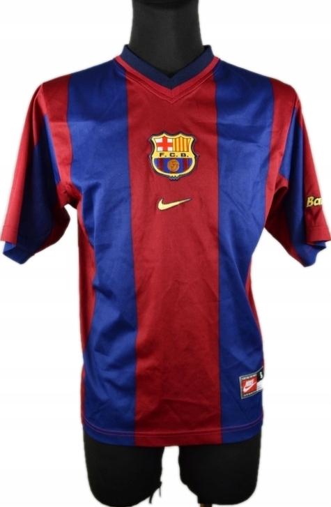 4bcc41de1 FC Barcelona NIKE Koszulka Vintage JAK NOWA ____ S - 7538518645 ...