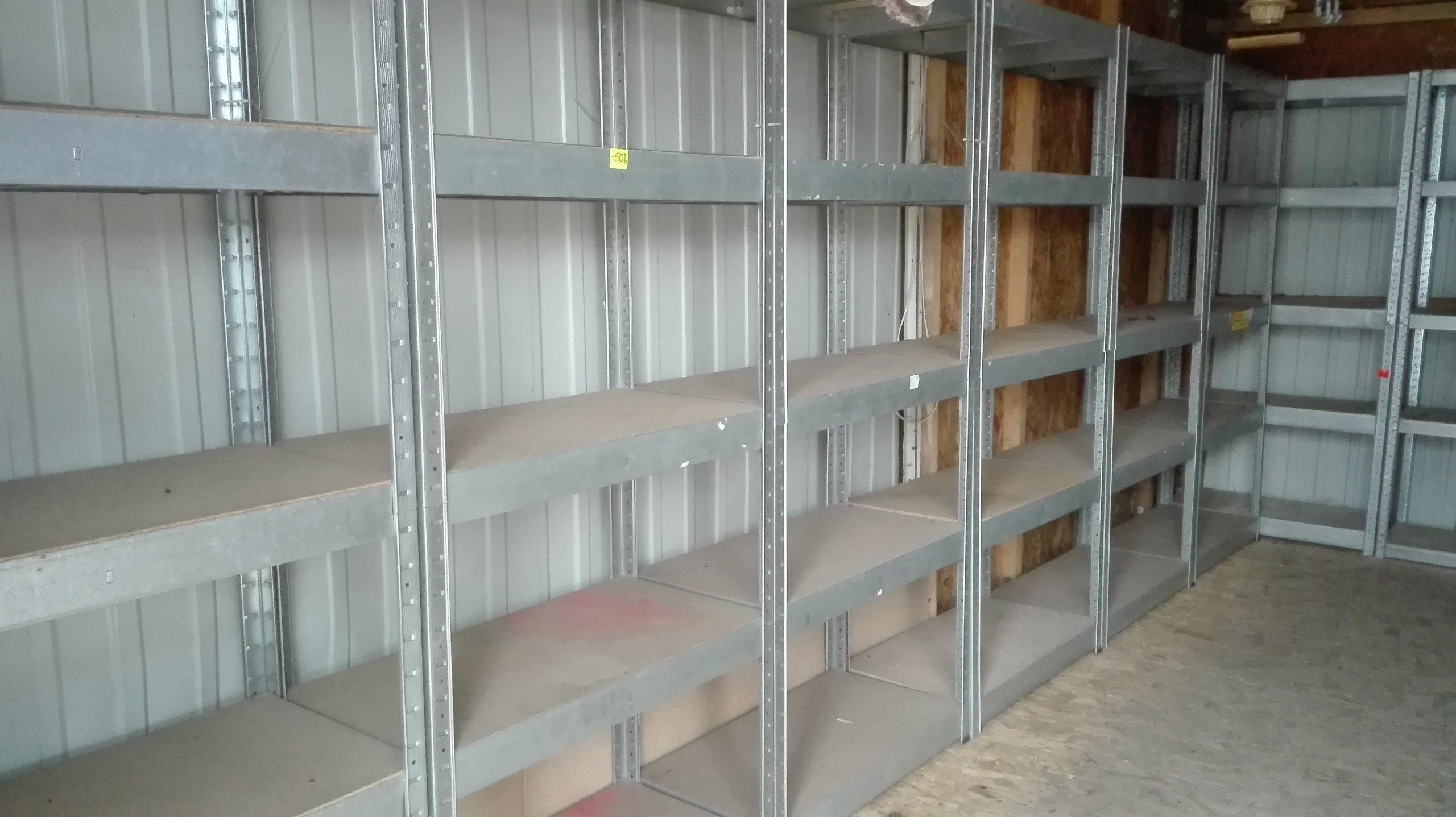 Regały Metalowe Do Garażu Piwnicy Komplet 9 Szt 7161360110