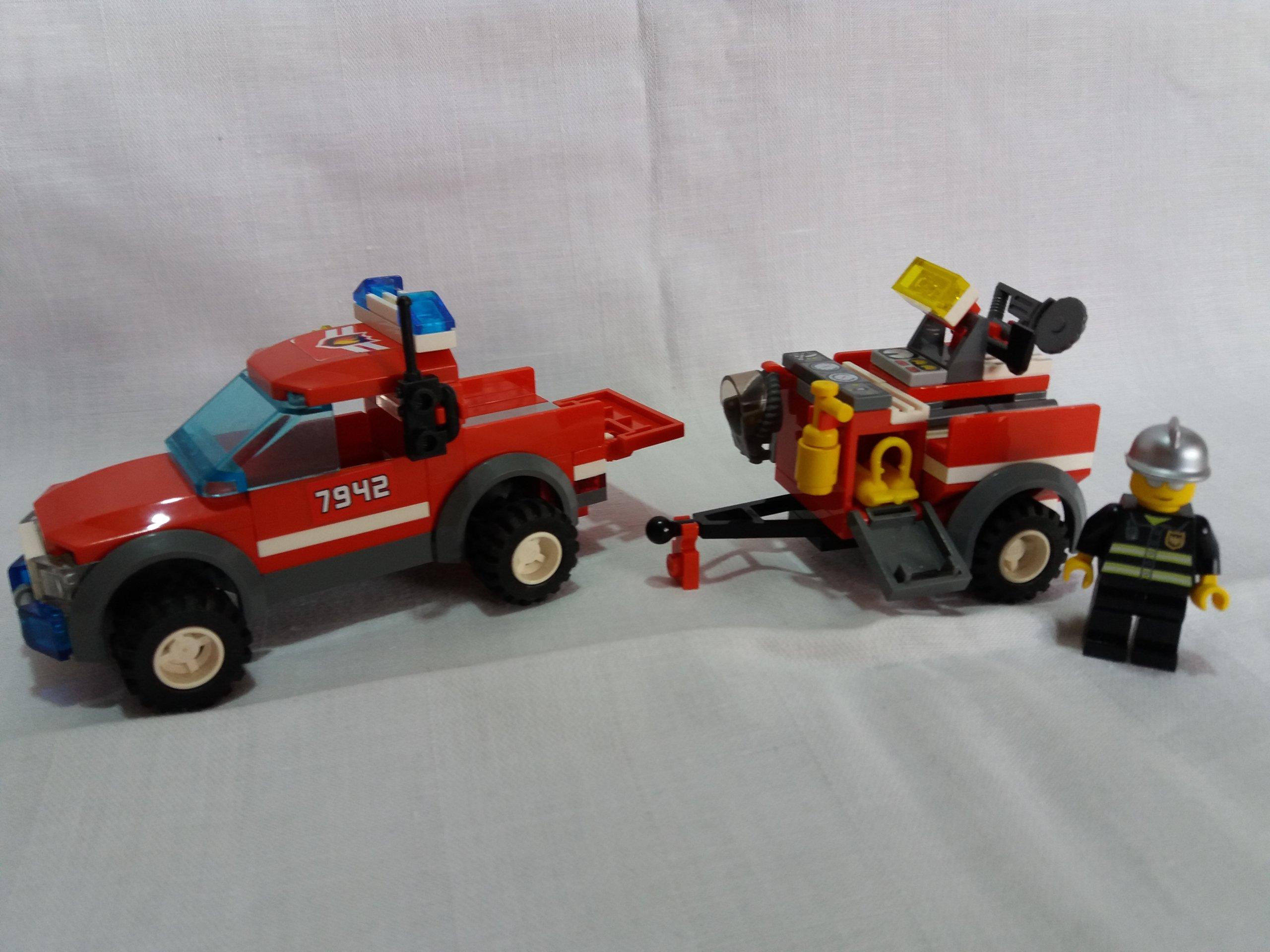 Lego City Straż Pożarna 7942 Off Road Fire Rescue 7158331856