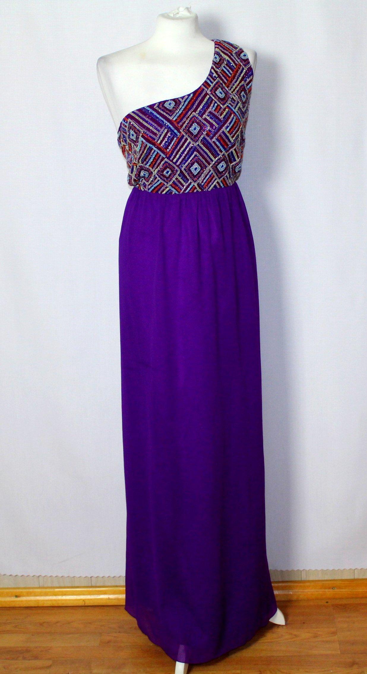 2503bf4911 Długa maxi suknia cekinowa 46 18 3XL - 7111962049 - oficjalne ...