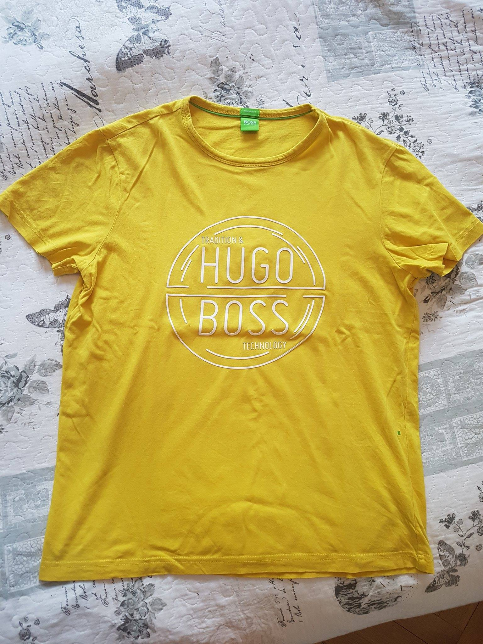 2539c5536746b Hugo Boss t-shirt koszulka rozm.M - 7087132840 - oficjalne archiwum ...