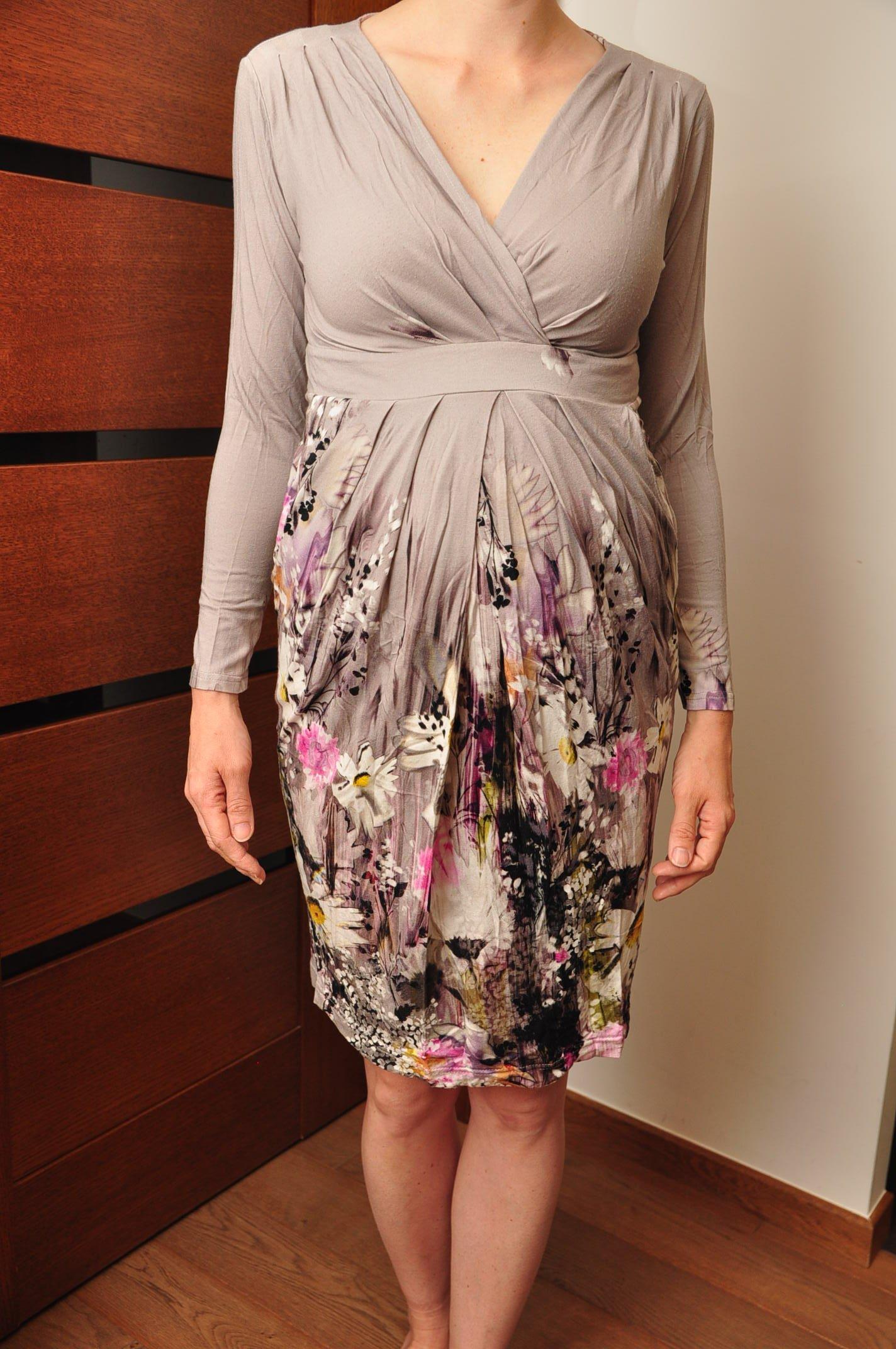 7452a6fa sukienka ciążowa do karmienia Happy Mum M