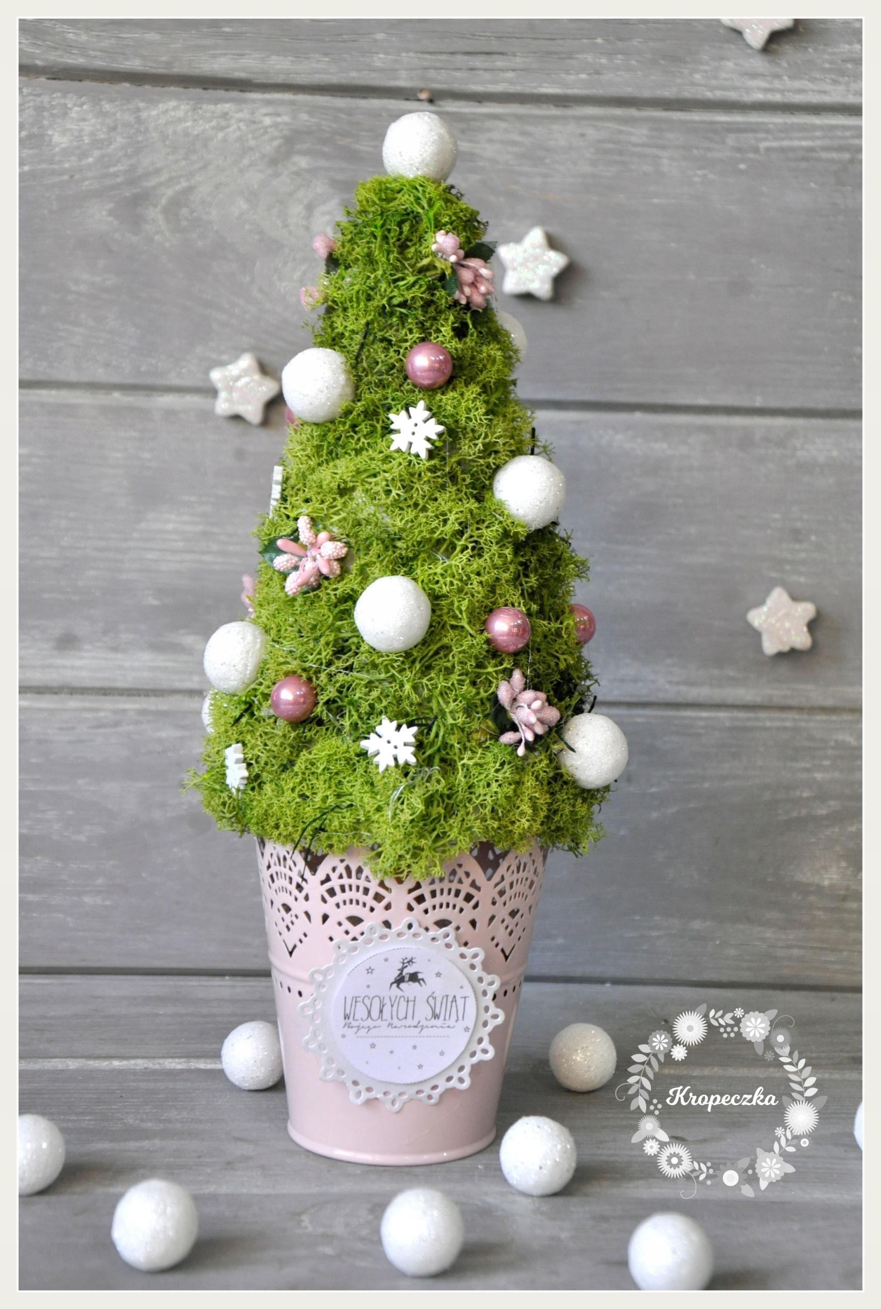 Stroik świąteczny Choinka Dekoracja Domu 7686255413