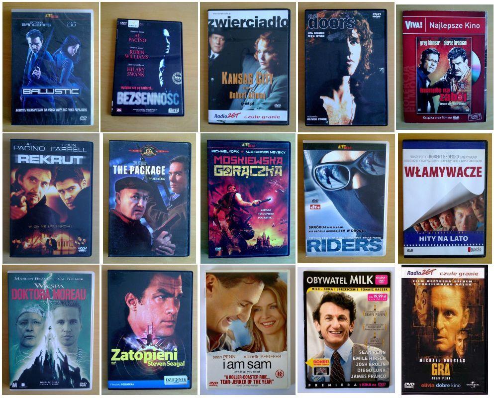Altman Pacino Dorf Williams Pfeiffer Seagal DVD 17